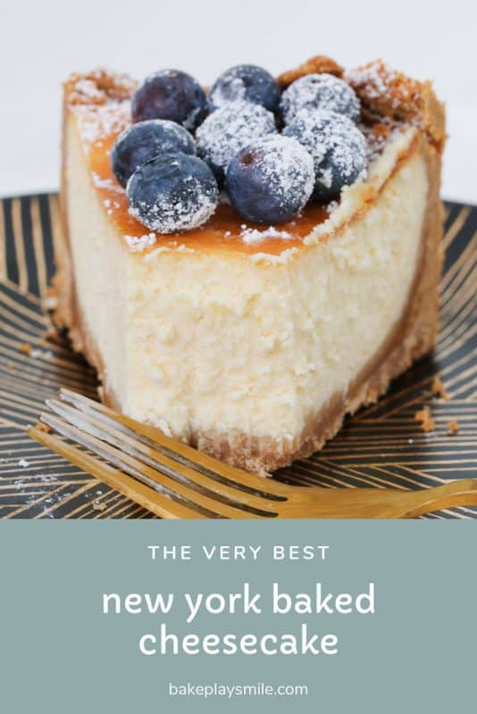The very best Classic New York Baked Cheesecake recipe - rich, creamy andabsolutely foolproof! Follow my simple tips for cooking a perfectly baked cheesecakeevery single time.