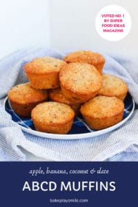 A plate of ABCD Muffins