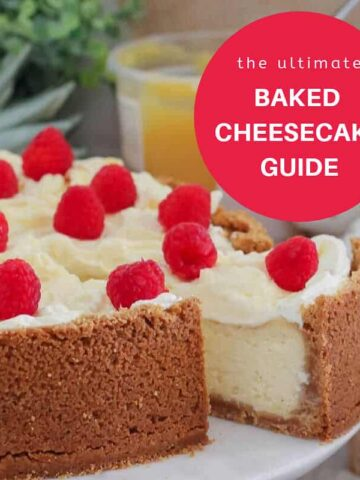 How to bake the perfect cheesecake.