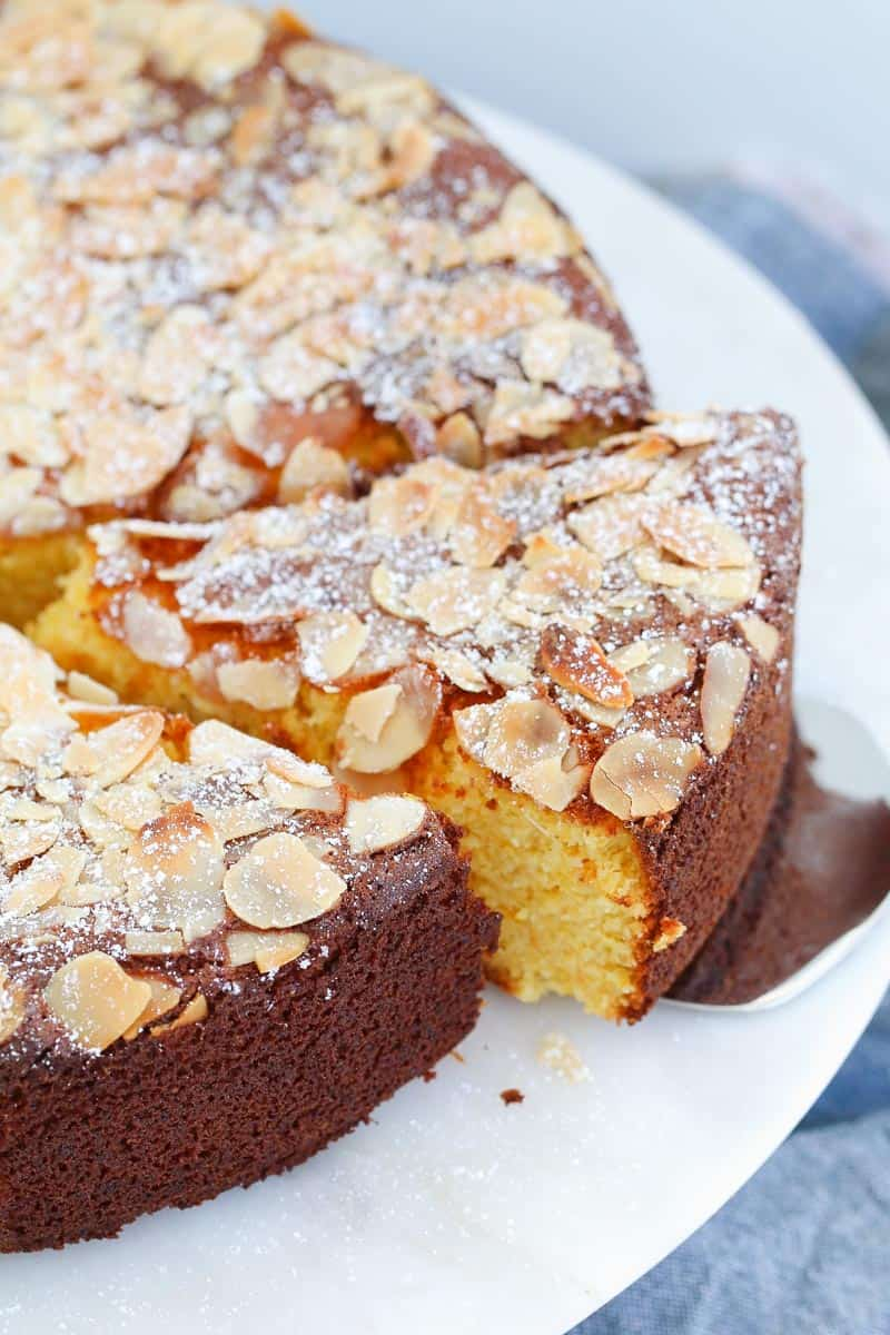 Gluten Free Flourless Orange Almond Cake Bake Play Smile