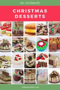 A collection of Christmas dessert recipes.