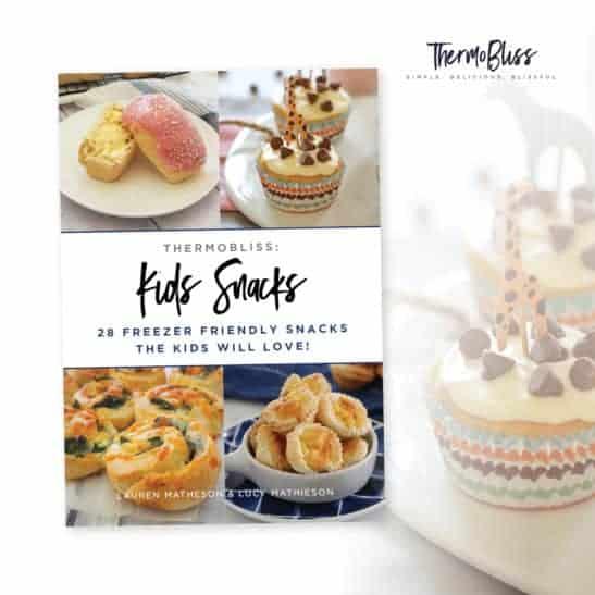 A recipe book of Kids Snacks