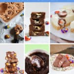If you love Cadbury Creme Eggs then you're going to fall in lovewith our delicious creme egg recipes - from cheesecakes to brownies, fudge to rocky road and more! #cadbury #creme #egg #recipes #easter #chocolate