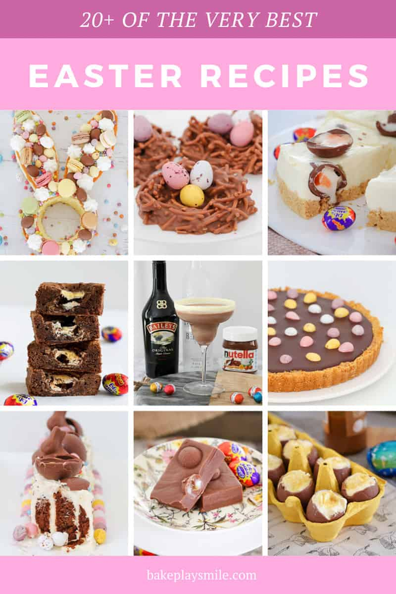 A collection of homemade easter recipes.