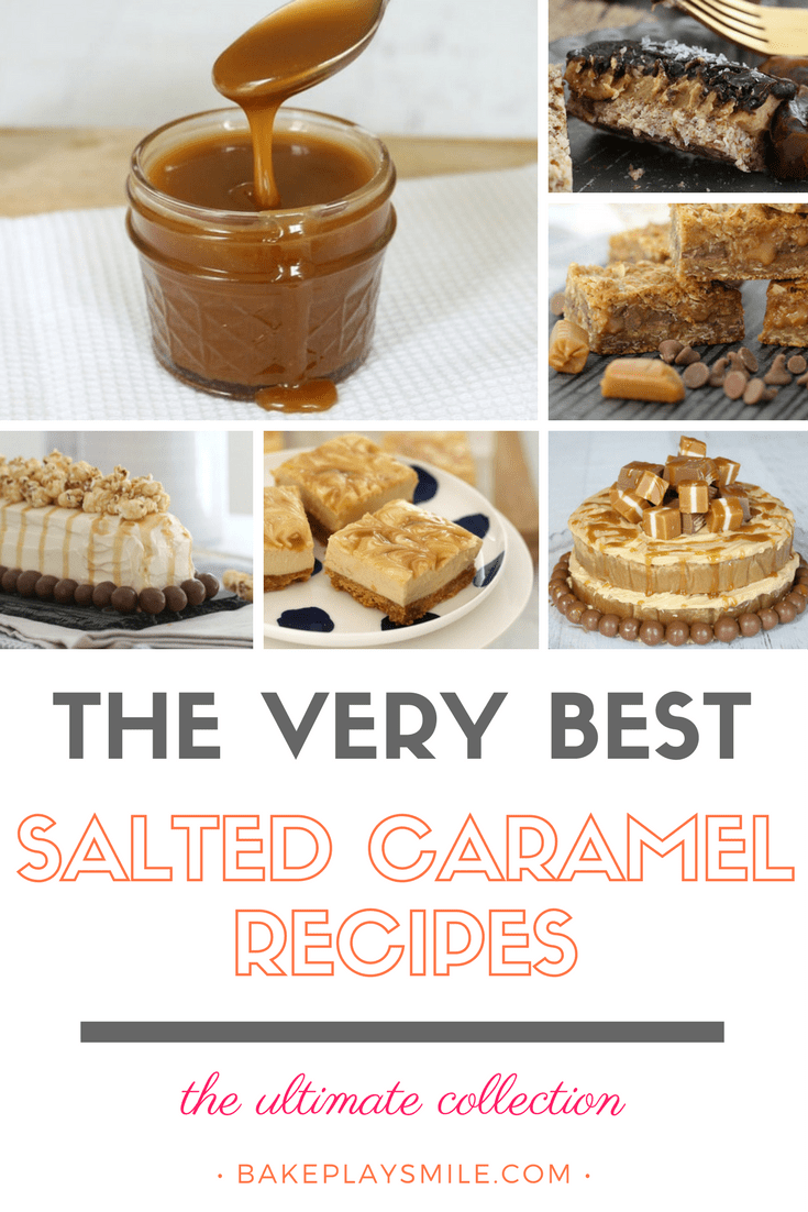 A collection of salted caramel recipes.