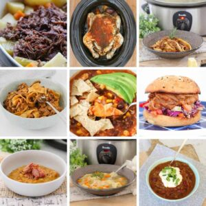 A collection of the best slow cooker recipes... delicious family favourites, easy midweek dinners, simple soups and more!