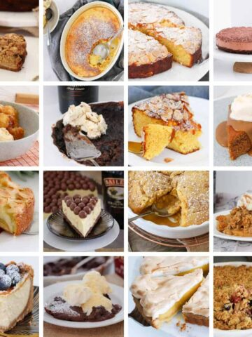 Browse the ultimate recipe collection of winter desserts... from homemade sweet pies to puddings, crumbles, cakes, dumplings, cheesecakes and more! #winter #dessert #desserts #recipes #thermomix #conventional #easy #homemade