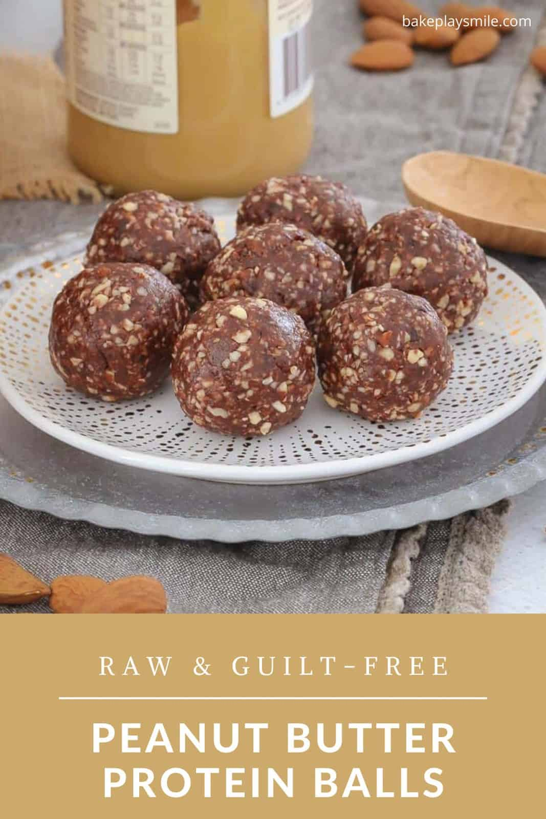 Peanut Butter Protein Balls Bake Play Smile