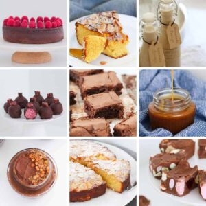 A collage of 9 gluten-free desserts.