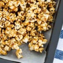 Salted caramel popcorn featured image