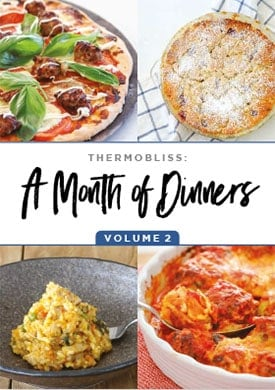 a month of dinners vol 2