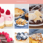 A collage of recipes with the text overlay 'The Best Thermomix Desserts'
